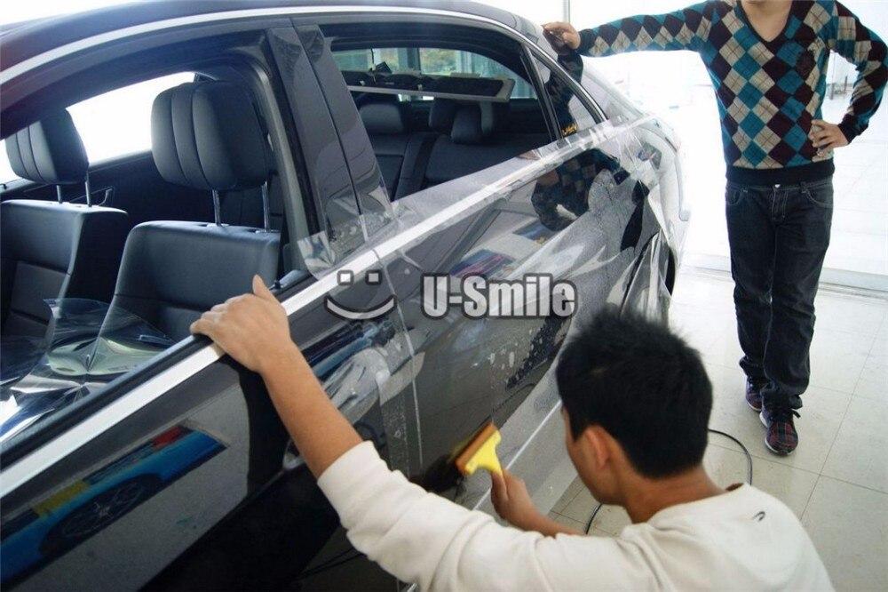 3 слоя ППФ Глянцевая ясно авто бюстгальтер для автомобиля обертывания Размер:1.52*15 м/рулон