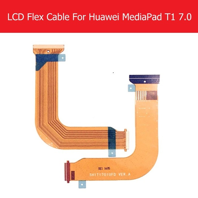 """Genunie LCD Display Flex Cable For Huawei MediaPad T1 7.0 Honor T1 7.0"""" T1-701U LCD Connect MainBoard Flex Replacement Repair"""