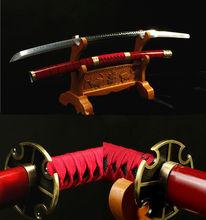 T10 Carbon CLay Tempered Anime Sword Sets Sword Manga Sword Roronoa Zoro