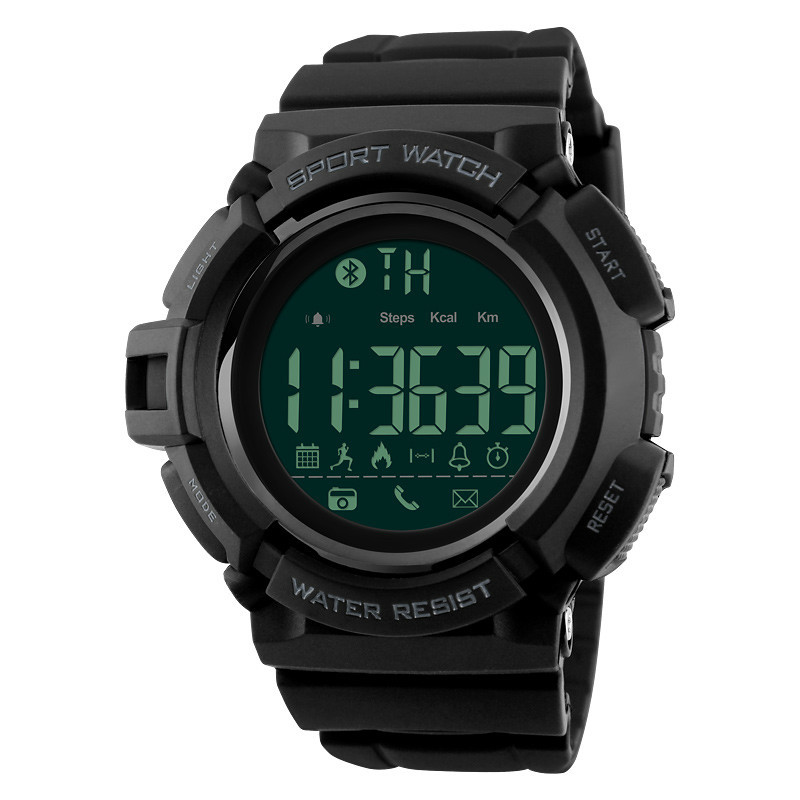 Bluetooth Smart hommes montre sport montres podomètre calories mode 50 M étanche numérique montre-bracelet Relogio Masculino BAMOER