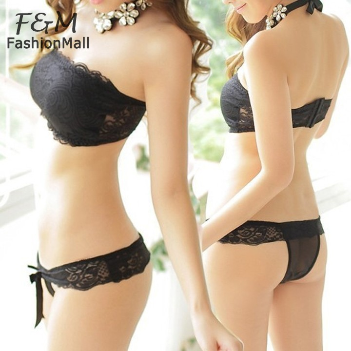 Aliexpress.com : Buy New 2015 Bra And Panty Set Lace Lingerie Push ...