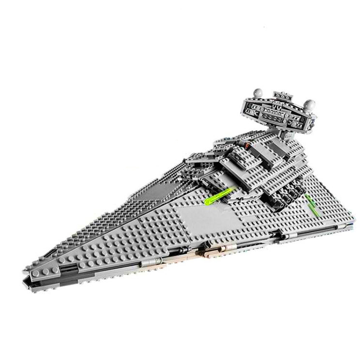 LEPIN 05062 1391pcs Star Series The Super Star Fighting Destroyer Building Block set Brick Toy For children Gift 75055 the last fighting tommy
