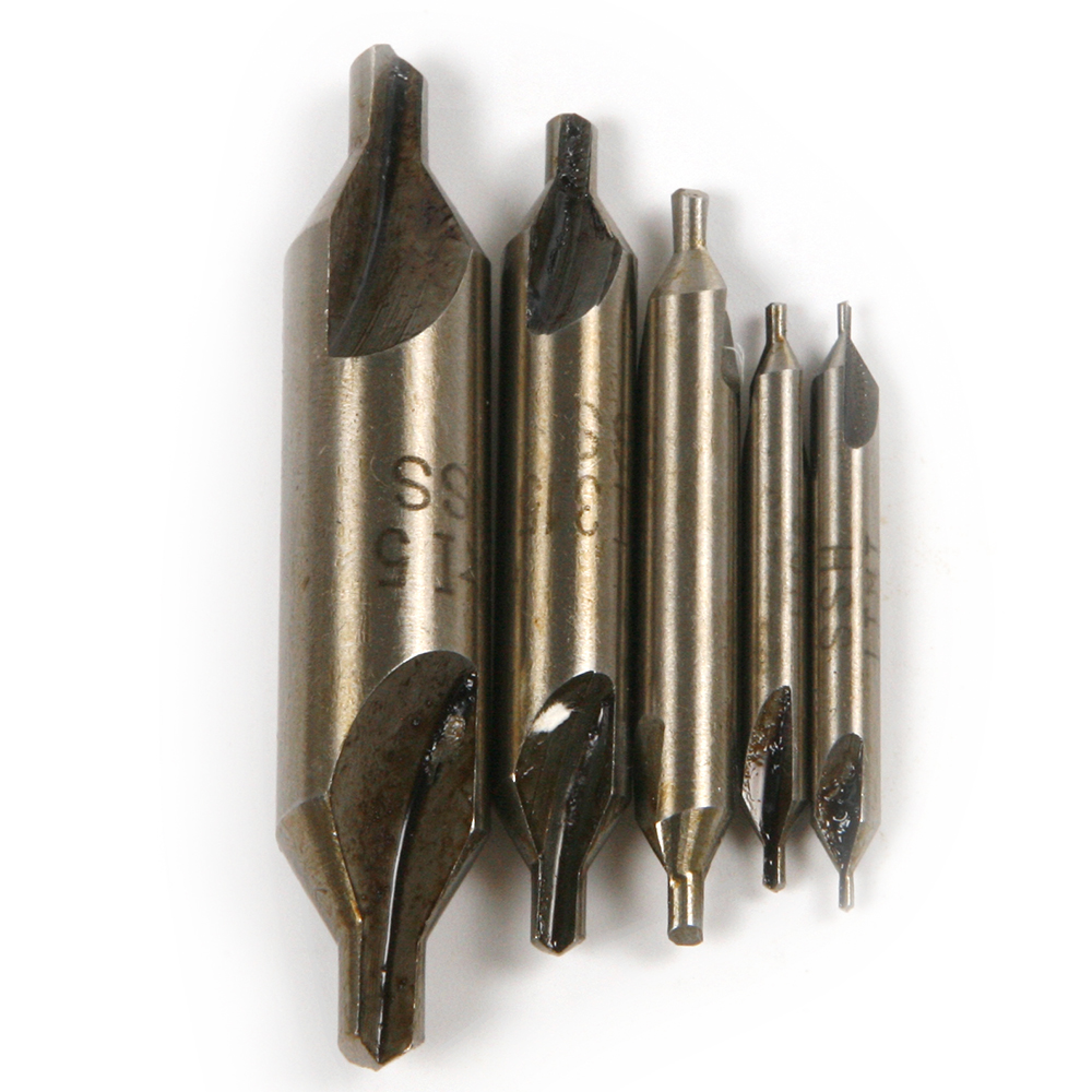 Hot 9PCS HSS Combined 2 Edges Center Drills Countersinks Shank diameter 3/4/5/6/8/10/12/14mm Angle Bit Set Tool Good Quality hot hss combined center drills countersinks 60 degree angle bit set tool metric 3 0mm