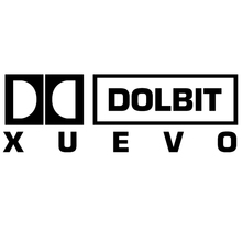 CK2555#30*10cm DOLBIT XUEVO funny car sticker vinyl decal silver/black auto stickers for bumper window decorations