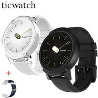 Оригинальный Ticwatch E Expres Смарт часы Android Wear OS MT2601 Dual Core Bluetooth 4,1 WI FI gps Smartwatch телефон + один бесплатный ремень