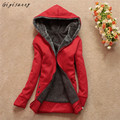 Casual Hooded Thick Women Fashion Warm Winter Hooded Coat Jacket Casual Parka Overcoat Long Outwear Female Free Shipping,Dec 29