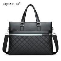 Wholesale PU Leather Men Briefcase Man Bags Business Laptop Tote Bag Men's Crossbody Shoulder Bag Men's Travel Bags Promotions