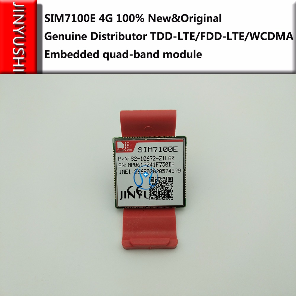SIMCOM SIM7100E 4G 100 New Original Genuine Distributor TDD LTE FDD LTE WCDMA Embedded quad band
