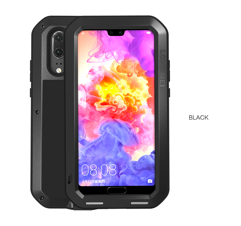 LOVE MEI Metal Waterproof Case For Huawei P20 Shockproof Cover For Huawei P20 Pro P20 Case Aluminum Protection P20 Gorilla glassLOVE MEI Metal Waterproof Case For Huawei P20 Shockproof Cover For Huawei P20 Pro P20 Case Aluminum Protection P20 Gorilla glass