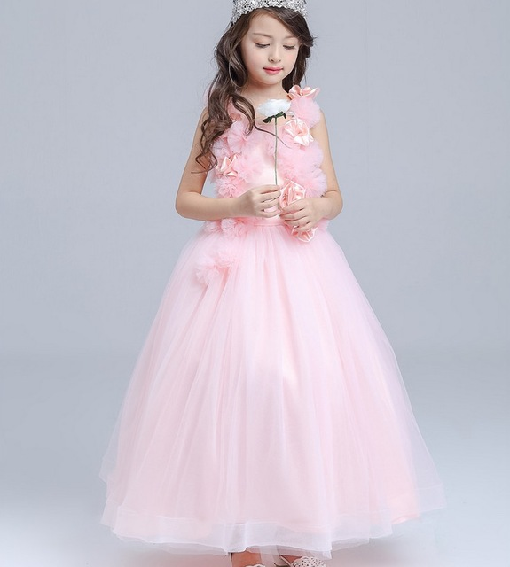 Buy teenage 10 12 13 years old pink for 10 year old dresses for weddings