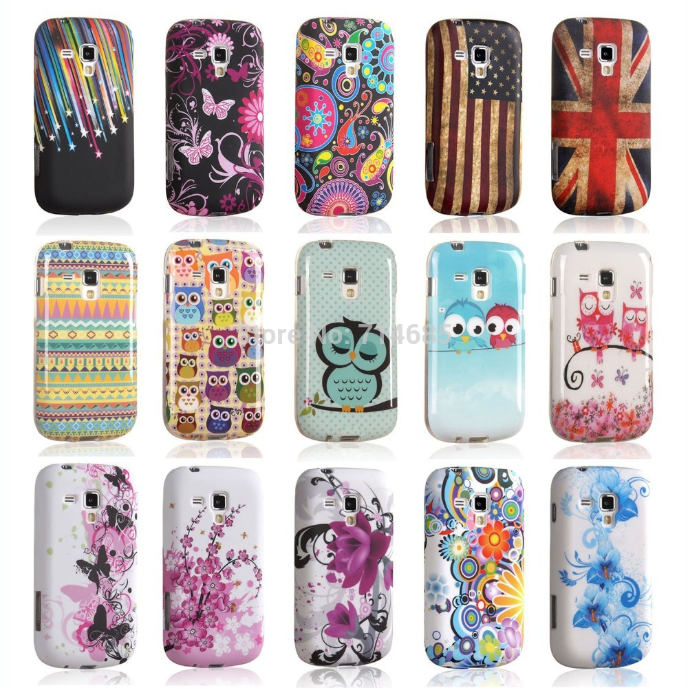 Art TPU Phone Case for Samsung GALAXY Trend S7560 & S Duos S7562 & S Duos 2 S7582 & Trend Plus ...