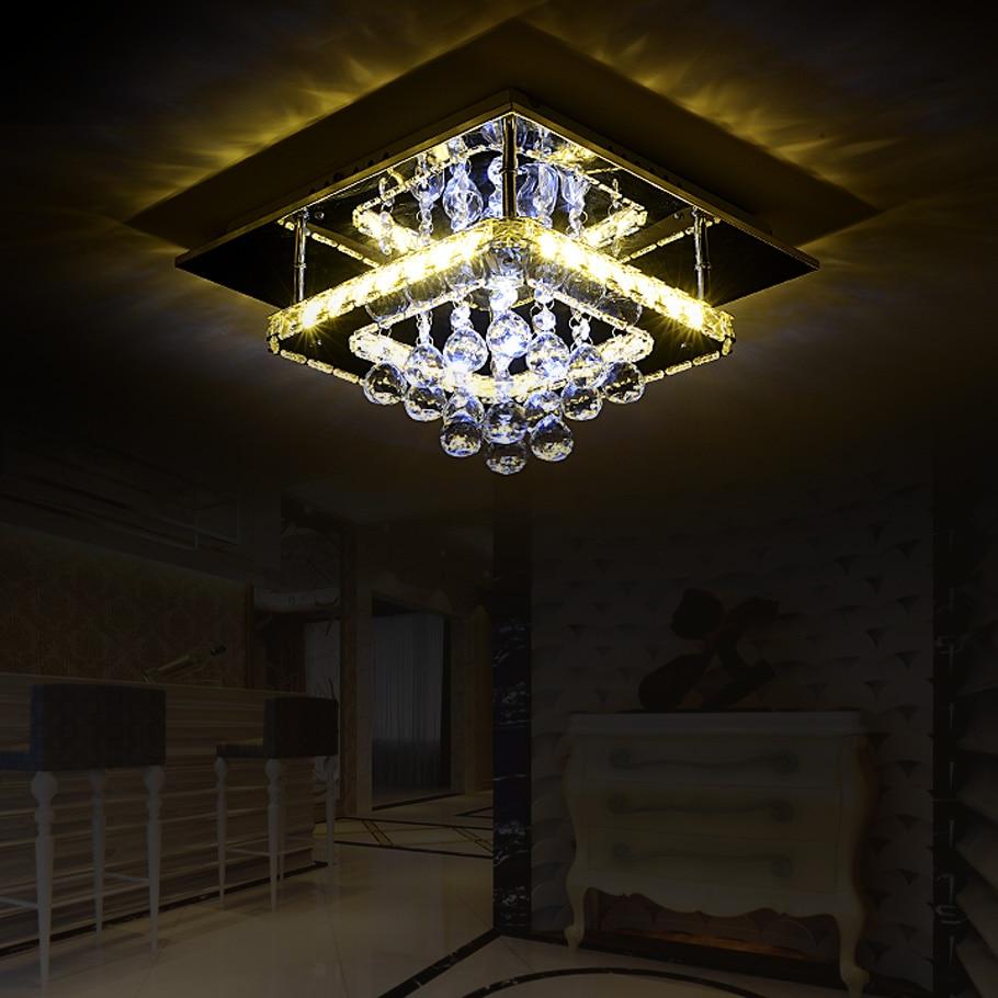 LED Modern Crystal Stainless LED Lamp LED Light Ceiling Lights Ceiling Lamp LED Ceiling Light For Foyer Bedroom Dinning Room