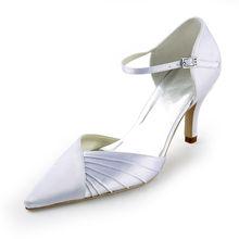 Zapatos De Boda satin spitz high heels pumps plissee satin schuhe OL hochzeit zwei stücke satin schuhe pumpen RR-093 YY