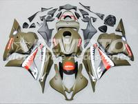 ACE KITS New ABS Injection Fairings Kit Fit For HONDA CBR600RR F5 2009 2010 2012 CBR600RR F5 09 12 ArmyGreen D23