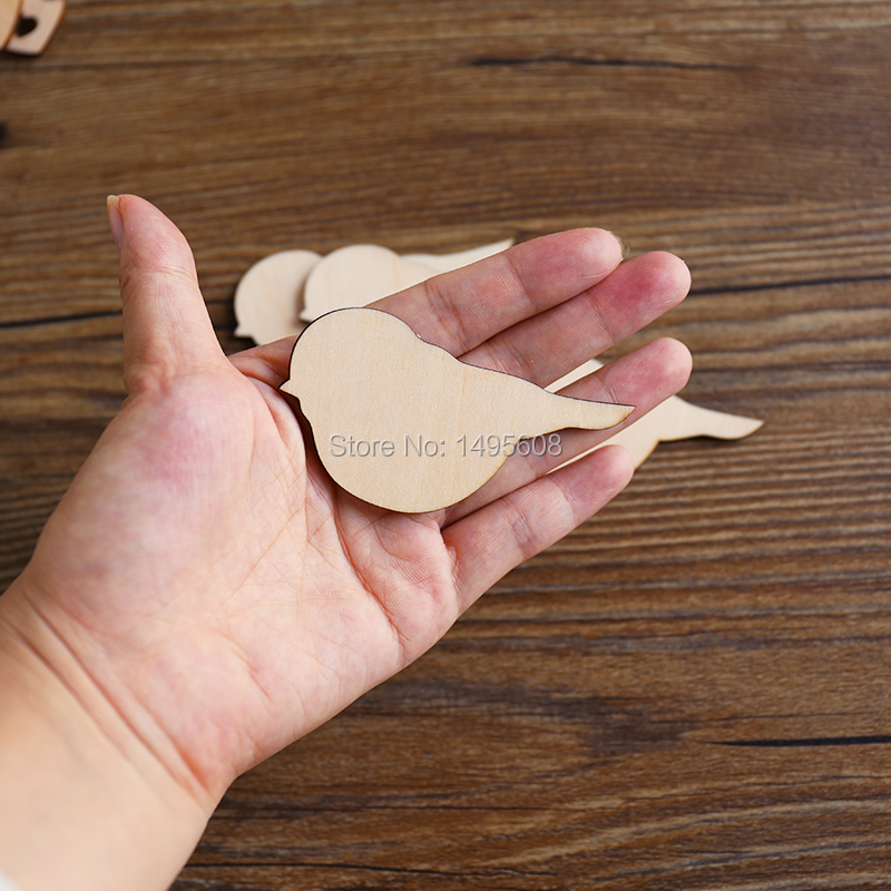 Chickadee Birds   Laser Cut Unfinished Wood Shapes Select Size