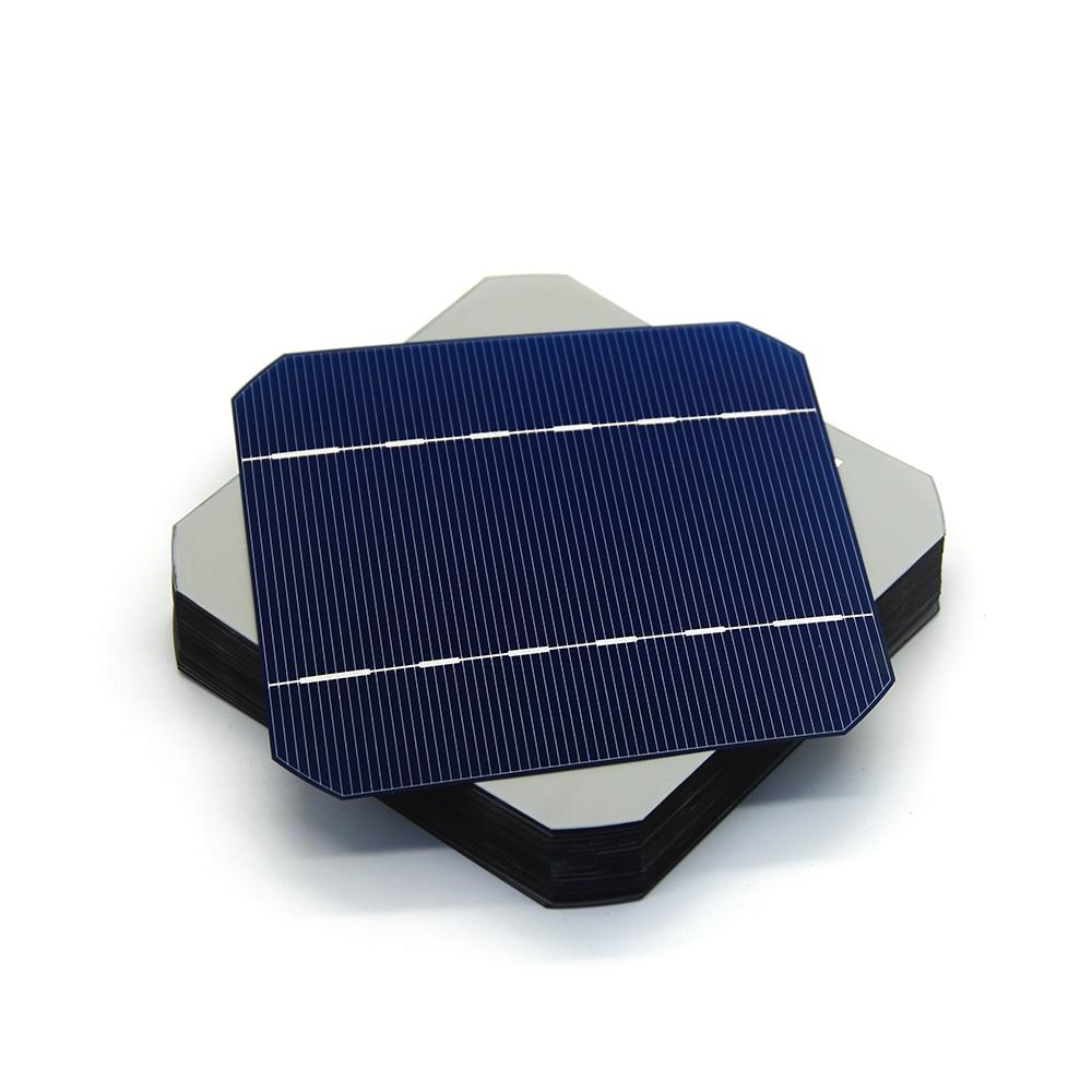 20 pcs 125 x 125mm Monocrystalline solar cell 2.8W for DIY solar panel