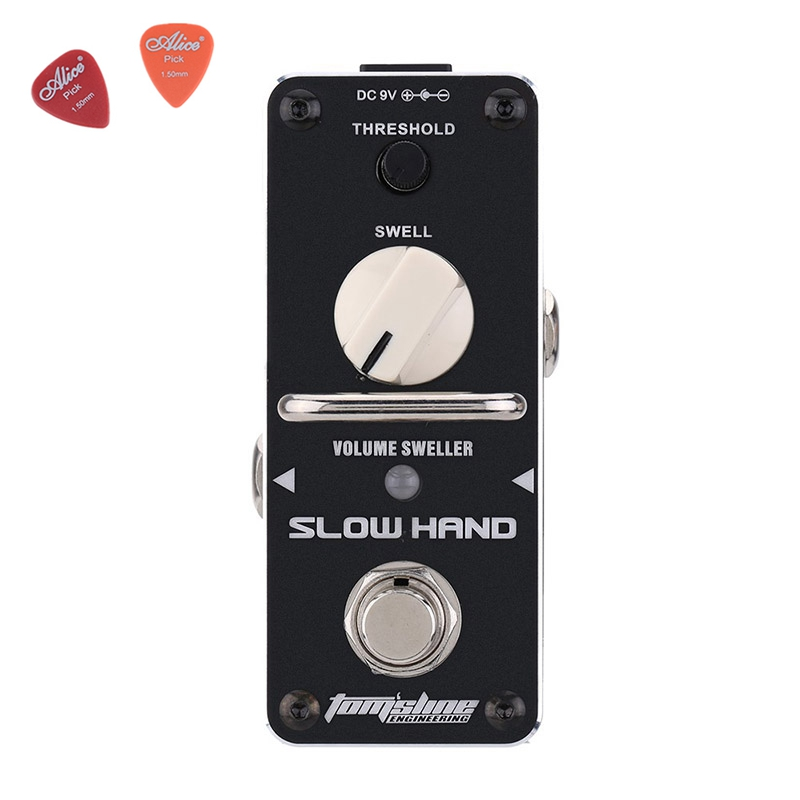 ASH-3 SLOW HAND Mini Digital Effect Guitar Effect DC9V Power Supply Aroma Pedal Effects ROHS guitar accessories ash ash vanna fw14 v 72055 001