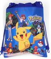 12Pcs Pokemon Go Drawstring Bags Kids Favors Non-Woven Fabric Boys Gifts Bag Baby Happy Birthday Party Shopping School Bags