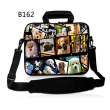 Pretty Canines 13″ 15″ 17″ Laptop computer shoulder bag Pocket book PC Pill case cowl for 10 11.6 13.three 14.four 15.four 17.three inch Macbook Air Professional