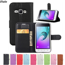 Flip Wallet Case For Samsung Galaxy J1 2016 J120 J120f SM-J120F DS 4.5 inch Funda Luxury Leather Cover Card Holder Coque Capa цена и фото