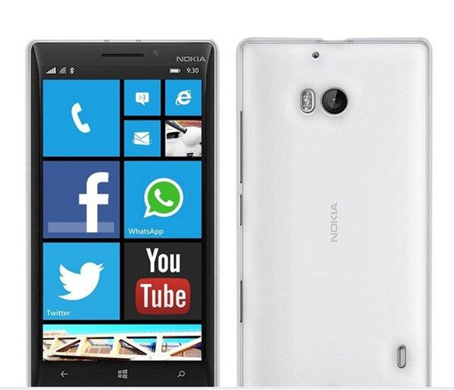 the latest 587cb 9f0fa US $1.57 |Clear TPU Gel Case for microsoft nokia lumia 930 N930 Transparent  Silicone Rubber Cover Case for nokia lumia 930 Transparent -in ...