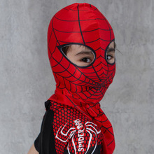 Halloween Cartoon  Full Head Masks for Kids New Fashion Cool Spider-Man Child Mask