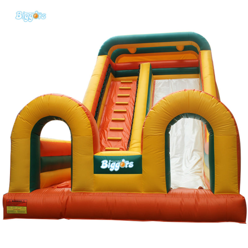 Inflatable Biggors Commercial Grade Inflatable Dry Slide For Kids And Adults hot double way inflatable dry slide inflatable water slide parts inflatable pool slide for adult and kids