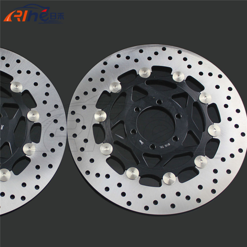 high quality motorcycle front brake disc roto For YAMAHA YZF600R 1994 1995 1996 1997 1998 1999 2000 2001 2002 2003 2004 2005 motorcycle part front rear brake disc rotor for yamaha yzf r6 2003 2004 2005 yzfr6 03 04 05 black color