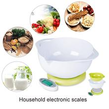5KG/1g LCD Display Digital Scales food Kitchen Scale Practical Electronic Diet balance weight Tool LED Scale
