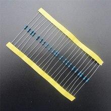 100 шт. Соответствует Свинец Металлопленочный Резистор 1/4 Вт Вт 82 К ом 1% Допуск Точности