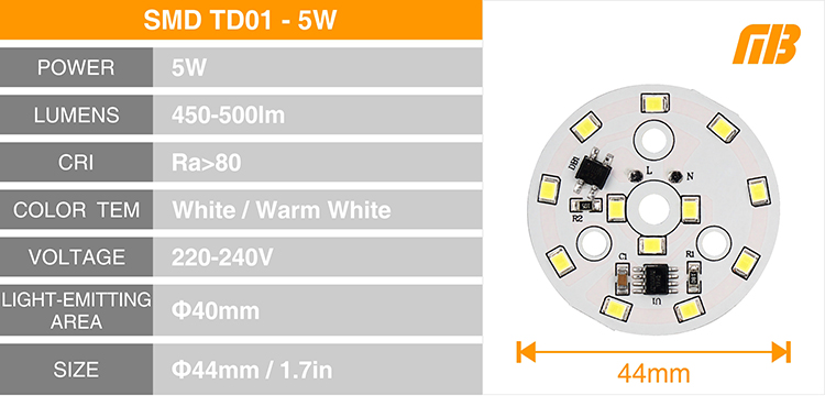 LED Down Light_TD-01 Chip_10
