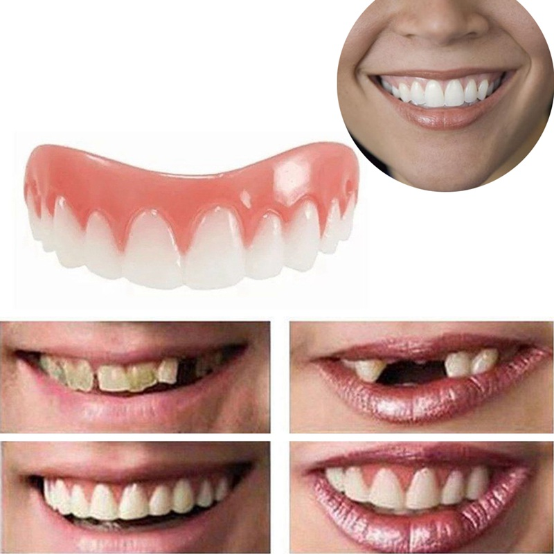1PC Ortodoncia Braces Teeth Professional Perfect Smile Veneers Dub Stock Correction Teeth Snap On Smile Cosmetic Teeth