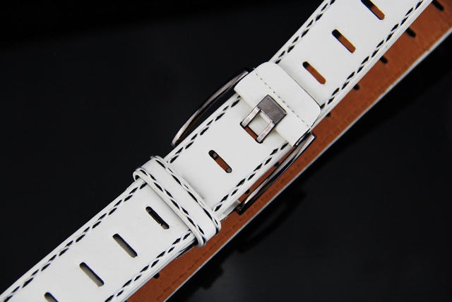 Wide Pin Buckle  Belt For Mens