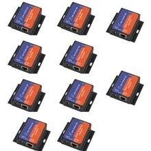 Q18041 10 10 sztuk USR TCP232 302 mały rozmiar szeregowy RS232 na Ethernet TCP IP serwer moduł konwerter Ethernet wsparcie DHCP/DNS
