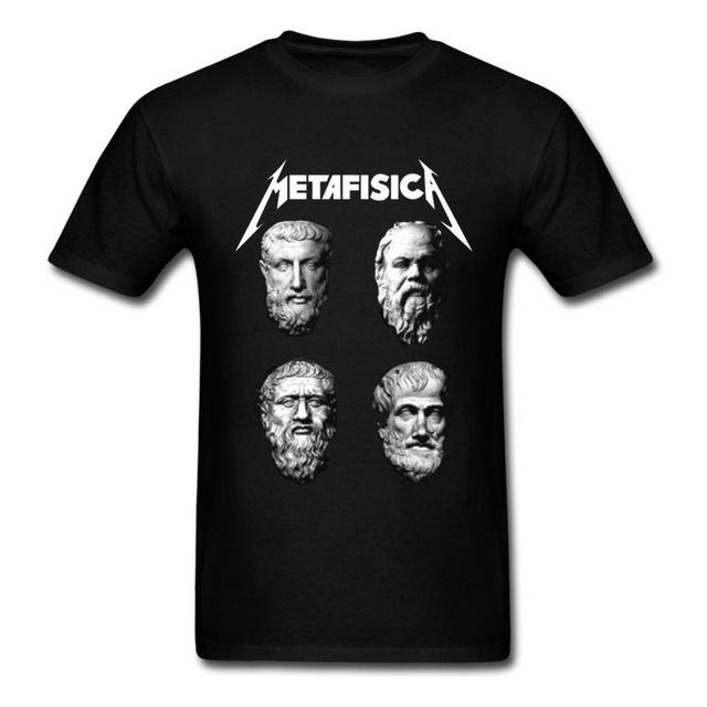 7139097f2 Metaphysics rock philosopher T shirt for Man-in T-Shirts from Men's ...
