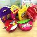 6pcs/pack Make Diy Handmade Handbags Non-woven Patchwork Fabric Cloth Kit Games Kids Girl Art Crafts Educational Toys Children