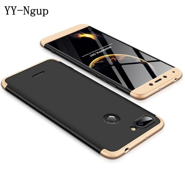 """Xiaomi Redmi 6 caso de 360 grados de la caja del teléfono a prueba de por Funda Redmi 6 Redmi6 Xiomi 5,45 """"cubierta en 1 hombre mujer"""