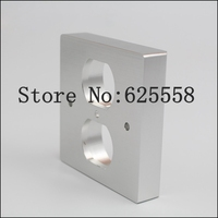 20MM Thickness US Socket AC Power Duple Receptacle Cover Outlet Wall Plate Panel 86x86