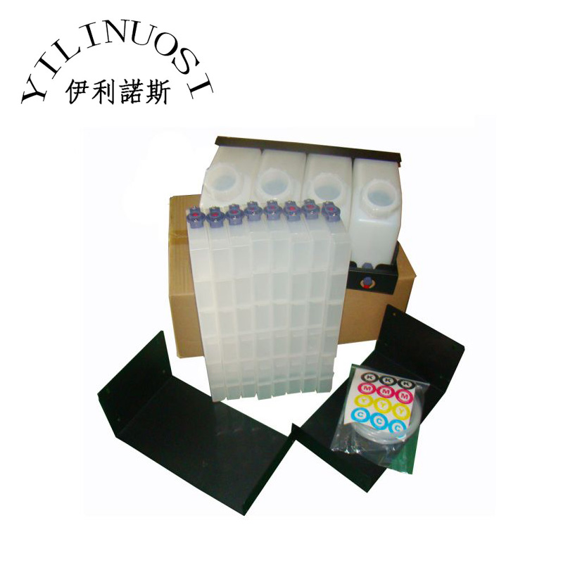 Original Mutoh Bulk Ink System with Vertical Cartridges (4 Bottles and 8 Cartridges) printers 4 bottles 4 cartridges roland bulk ink system