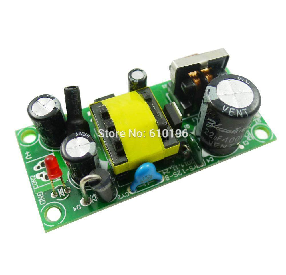 Online Shop 5pcs Ac Dc 220v To 12v Step Down Module Switching Power Volt Regulated Supply Circuit Precision 1a 12w 85 265v Voltage Converter Buck
