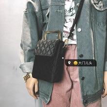 2017 Новых женщин Сцепления Плеча Сумки Велюр Сумка Роскошные Enevlope сумка для леди Бесплатная Доставка