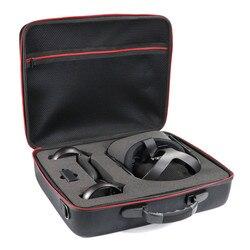 Nowy  twardy  torba podróżna torba Case dla Oculus Quest All-in-one VR zestaw słuchawkowy do gier i kontroler akcesoria ochronne pudełko do przechowywania