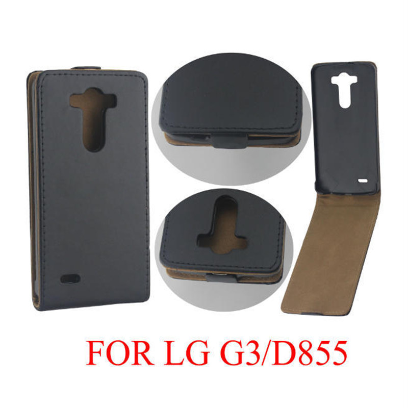 Vertikal PU-läder Flip Case Fundas Capa För LG Optimus G3 D855 D850 - Reservdelar och tillbehör för mobiltelefoner - Foto 6
