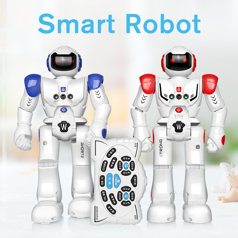 Robot Toy Children Robot RC Gesture Sensor Smart Action Walk Dancing Rechargeable Gift for Kids By DODOELEPHANT kids toy space dancing robot lz444