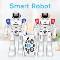 USB Charging Robot Toy RC Gesture Sensor Smart Robot Manipulator Hand Action Walk Dancing For Baby Kids Boys Toys DODOELEPHANT
