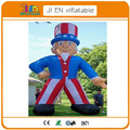 20ft USA inflatable uncle sam balloon with blower for advertising