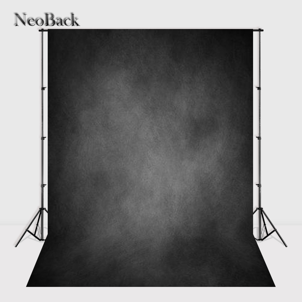 Prix pour NeoBack 3X5ft Vinyle Tissu Portrait Gris Ton photographie fond Texture fond Vieux Maître Photo studio Décors P0639