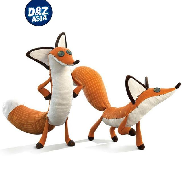 O Pequeno Príncipe Fox esquilo de Pelúcia Bonecos de pelúcia recheado brinquedos educativos Animais Raposa De Pelúcia Brinquedos de Pelúcia Boneca animal de pelúcia Recheado
