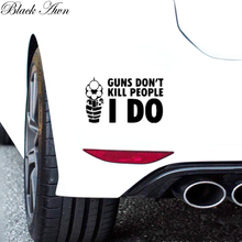 Guns dont kill people I do Sticker truck NRA funny decal  chevy D103