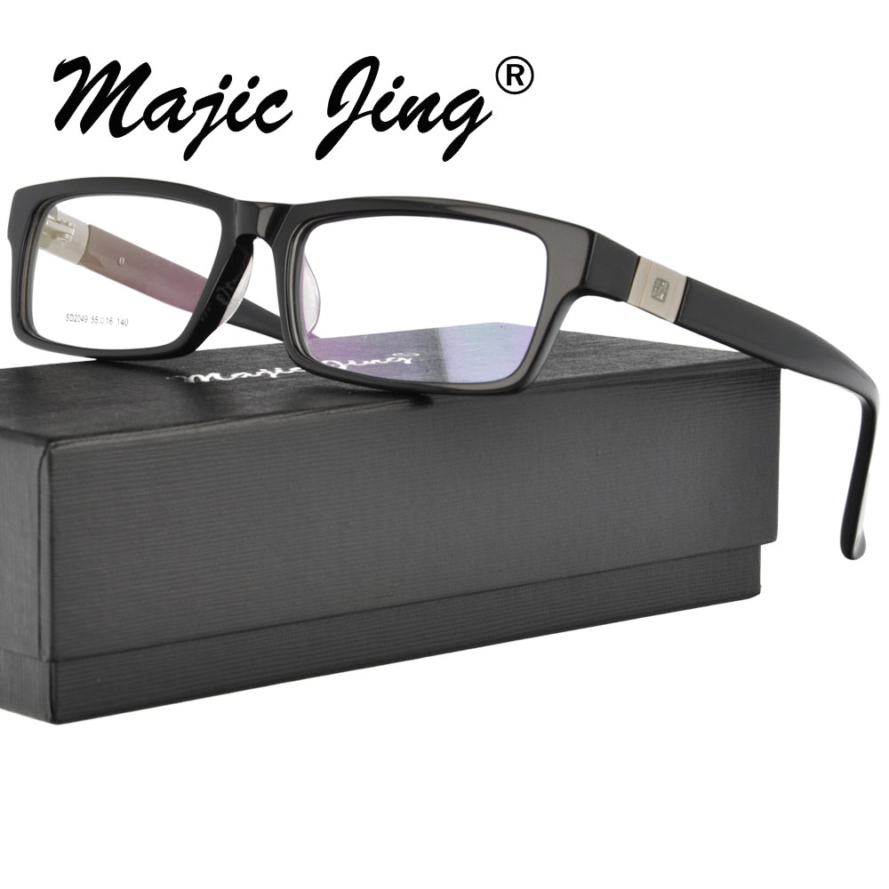 Magic Jing  Acetate Glasses Frame Full Rim For Men  Prescription Spectacles Myopia Eyewear Eyeglasses Eyewear SD2049